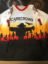 2002/03 Topeka Scarecrows Alternate Game Worn Jersey USHL Sedevie #1 XXLG