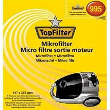 Filtre sortie moteur pour aspirateur - 197 x 255 mm - TOP FILTER