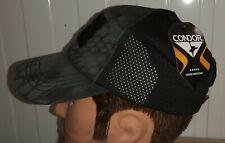 CONDOR SHOOTING / TRUCKERS / HUNTING CAP - DARK CAMO, ADJUSTABLE NEW MADE