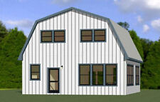 28x32 House -- 4 Bedroom 2.5 Bath -- PDF Floor Plan -- 1,544 sq ft -- Model 4C