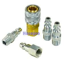 1/4 NPT Air Hose Fittings M Style Tool Line Compressor Construction Coupler Plug