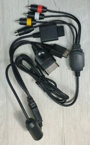 Universal AV Game Cable | GAMECUBE, N64, SNES, PLAYSTATION PS1, PS2, PS3, XBOX