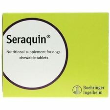 Seraquin 800mg Nutritional Joint Supplement for Small Dogs & Cats - 60 tablets