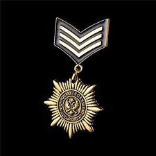 Gold Navy Army Military Award Lapel Pins Badge Brooch Free Shipping