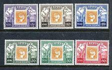 Philippines 605-607,C74-C76,MNH.Michel 575-580. Philippine stamp-100.1954.