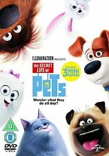 The Secret Life of Pets - DVD - Brand New & Sealed With Cardboard Outer Sleeve