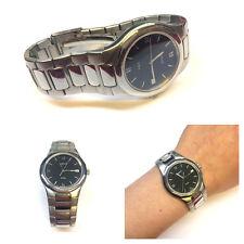 Tissot Quartz Stainless Steel Wrist Watch Men's Wristwatch
