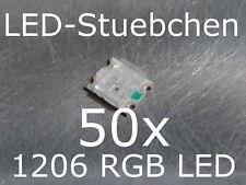 50x 1206 RGB LED SMD 3-chip
