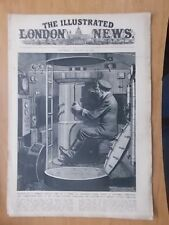 WWII ILLUSTRATED LONDON NEWS - JANUARY 16th 1943 - SECRETS OF A GERMAN U-BOAT