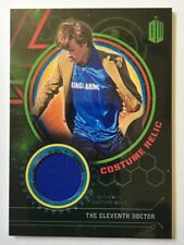 2016 TOPPS DOCTOR WHO ELEVENTH SOCCER COSTUME RELIC GREEN 178/199