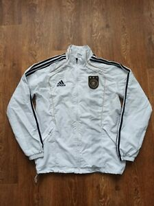 National Germany Team Jacket Size M Full Zip Football Soccer Adidas