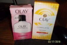 1 Olay active hydrating beauty fluid lotion 4 oz + 1 Olay complete 6oz all day m