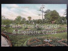 c1906 Nottingham: The Arboretum showing Flower Beds