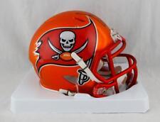 Warren Sapp Autographed Tampa Bay BLAZE Mini Helmet W/ HOF- JSA W Auth *Black