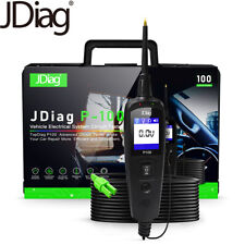 JDiag P100 Automotive Vehicle Electrical System Circuit Tester Tools Truck & Car