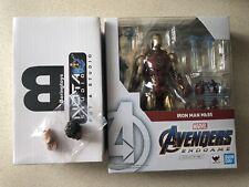 (US) SH Figuarts Iron Man MK 85 Figure Endgame Manipple Head NOTA Studio Upgrade