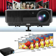 7000Lumens Smart Android Projector HD Video Home Theater 1080p VGA/HDMI/USB USA