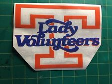 TENNESSEE LADY VOLS TWO COLOR  5 X 7 VINYL CAR TRUCK WINDOW DECAL STICKERS