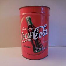 N1988 corbeille basket COCA-COLA métal art déco PIERRE HENRY PN France