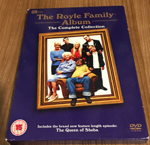 The Royle Family Series 1 - 3 Complete Collection (2006, 4-Disc Set) Region 2 UK