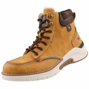 NEU Mustang Herrenschuhe Schuhe Winter-Stiefel gefüttert Boots Stiefeletten