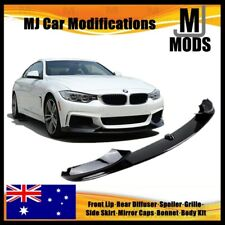 ABS Glossy Black Front Bumper Lip for BMW【F32 F33 F36 M SPORT Bumper】【MP Style】