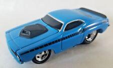 Muscle Machines Blue w/Black 1970 70 Cuda Die Cast 1:64 Scale