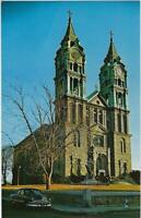 - NOTRE DAME CHURCH -Fall River, MA   Postcard (see description below)