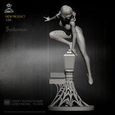 75mm resin figure model kit 1:24 Sexy Spider chivalrous woman TD-2248 garage kit