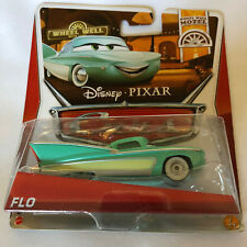 Disney Pixar Cars Flo Wheel Well Motel 7/11 (NIP, but See collector Note)