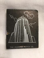 Vintage Matchbook Empire State Building Observatories New York Full UNSTRUCK