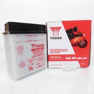 Batería Yuasa Para Quad Polaris 500 Scrambler 4X2/4X4 1998A 2005 YB14A-A2/1