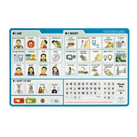 EZ Patient Communication Board Picture Board 1 ea