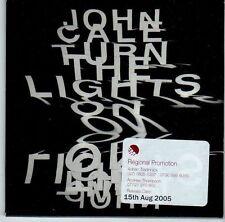 (EL871) John Cale, Turn The Lights On - 2005 DJ CD
