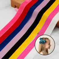 tissu à coudre arcs les fournitures le ruban de velours l'emballage de cadeaux