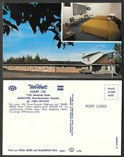 Old Canada Hotel Postcard - New Brunswick - Moncton - Nor-West Motel