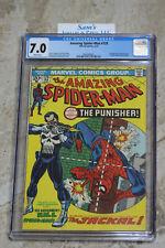 Amazing Spider-Man #129 (Feb. 1974) CGC 7.0 ❄️Snow WHITE Pages❄️ 1st Punisher!!!