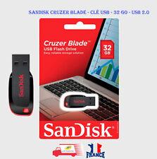 SanDisk 32Go Cruzer Blade Clé USB 2.0 Flash Drive SDCZ50-032G-B35
