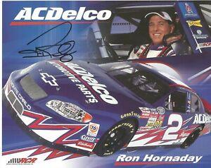 Ron Hornaday Autographed 8x10 Postcard Blank Back Busch Series L@@K