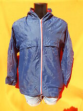 VINTAGE Rain Jacket Veste Chaqueta Imper Old School Made in Italy Lining Doublé