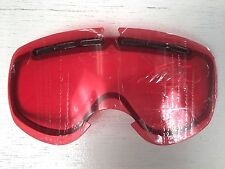 NEW ELECTRIC EG.5 ROSE RED goggle replacement lens extra - cloudy overcast EG 5
