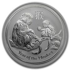 Perth Mint Australia $1 Lunar Series 2 Monkey 2016 1 oz .999 Silver Coin