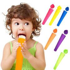 Popsicle Silicone Tube Tray Frozen Mold DIY Ice Cream Yogurt Mould Maker Newly