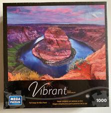 """Jigsaw Puzzle """" Horseshoe Bend Of The Southwest"""" Mega Puzzlers Vibrant Series"""