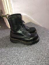 Dr Martens Jadon 5 Vintage Platform Chunky Boots 90s Black Womens