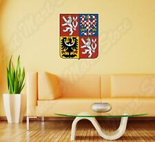 Czech Republic Coat Of Arms Ice Hockey Wall Sticker Room Interior Decor 20