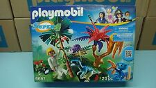 Playmobil 6687 Super 4 Lost Island with Alien and Raptor Dinosaur  NEW in Box