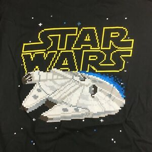 Vintage Star Wars Millennium Falcon T-Shirt  - Size Large