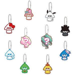 Phone Charm Strap Anime Splatoon 2 Hello Kitty My Melody Cinnamoroll 1PC Random