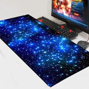 Gaming Mouse Pad Locking Edge Large PC Computer Laptop For Apple MackBook